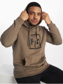 Under Armour Sport Hoodies Rival Fleece Logo khaki
