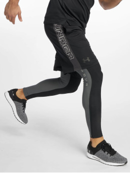 Under Armour Sportleggings UA Qualifier Heatgear Glare svart