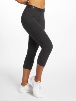 Under Armour Sportleggings Favorite Mesh Crop  zwart