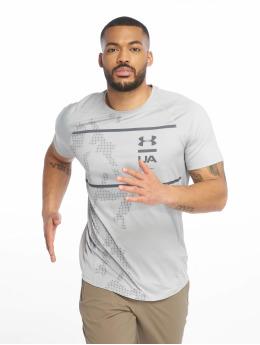 Under Armour Sportshirts MK1 Q2 Printed grau
