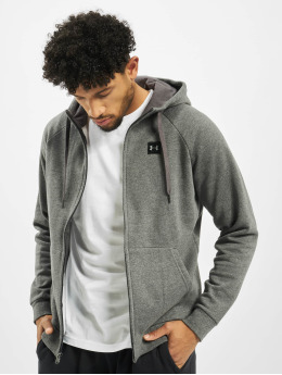 Under Armour Sweat capuche zippé Rival Fleece gris