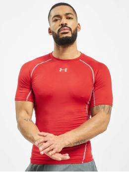 Under Armour T-paidat UA Heatgear Armour punainen