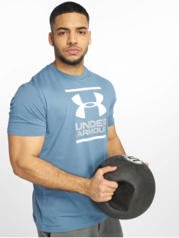 Under Armour T-paidat UA GL Foundation sininen