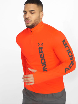 Under Armour T-Shirt manches longues UA Speed Stride Split orange