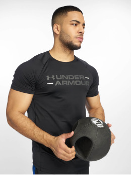 Under Armour T-shirt MK1 Wordmark nero