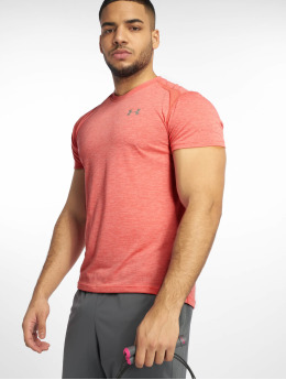 Under Armour t-shirt UA Streaker 2.0 Twist oranje