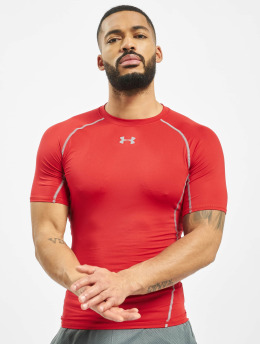 Under Armour t-shirt UA Heatgear Armour rood