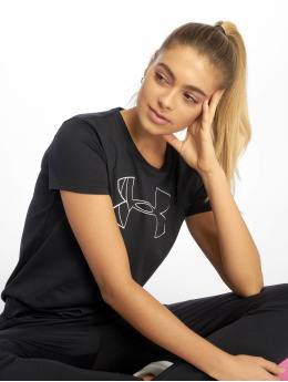 Under Armour T-Shirty Graphic BL czarny