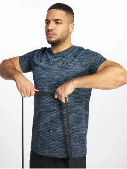 Under Armour T-Shirty Vanish Seamless Novelty niebieski