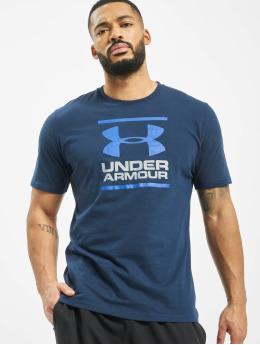 Under Armour T-Shirty UA GL Foundation niebieski