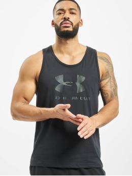 Under Armour Tank Tops Sportstyle Logo schwarz