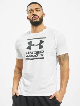 Under Armour Urheilu T-paidat UA GL Foundation valkoinen