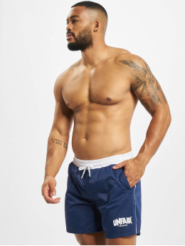 UNFAIR ATHLETICS Badeshorts Classic Label blue