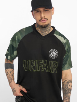 UNFAIR ATHLETICS camiseta de fútbol Football Jersey negro