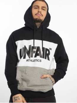 UNFAIR ATHLETICS Hoodie Classic Label svart
