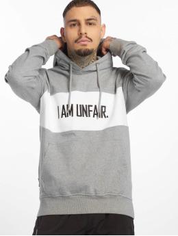 UNFAIR ATHLETICS Hoody I Am Unfair grijs