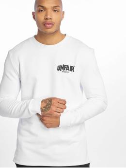 UNFAIR ATHLETICS Pitkähihaiset paidat Classic Label BP valkoinen