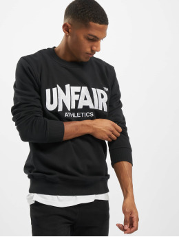 UNFAIR ATHLETICS Pullover Unfair Classic Label Tatami schwarz