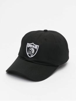 UNFAIR ATHLETICS Snapback Cap Pb Emblem schwarz