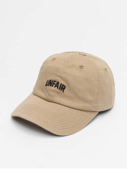 UNFAIR ATHLETICS Snapback Caps Unfair béžový