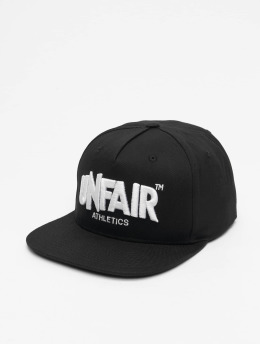 UNFAIR ATHLETICS Snapback Caps Classic Label  czarny