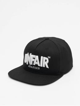 UNFAIR ATHLETICS Snapback Caps Classic Label  musta