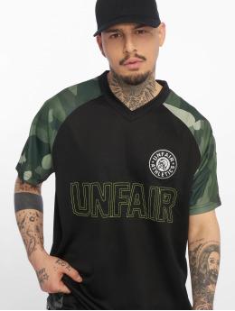 UNFAIR ATHLETICS Sport tricot Football Jersey zwart