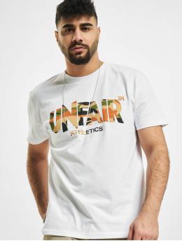UNFAIR ATHLETICS T-Shirt Classic Label blanc