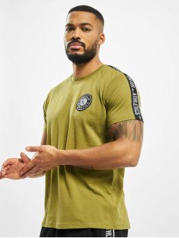 UNFAIR ATHLETICS t-shirt Hybrid Taped  groen