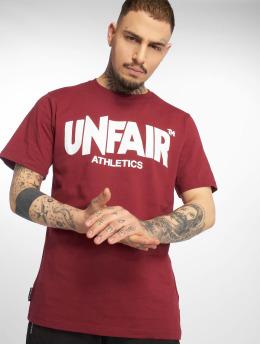 UNFAIR ATHLETICS T-shirt Classic Label röd