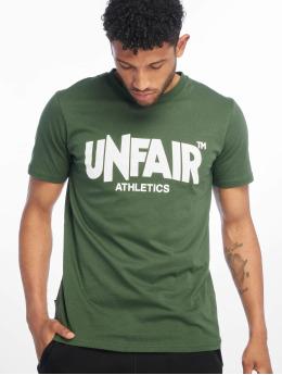 UNFAIR ATHLETICS T-shirts Classic Label '19 grøn