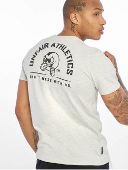 UNFAIR ATHLETICS T-shirts Punchingball Hybrid hvid