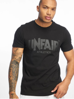 UNFAIR ATHLETICS T-Shirty Classic Label czarny