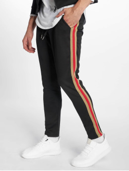 Uniplay Jogging kalhoty Stripes  čern