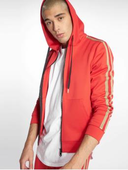 Uniplay Sweat capuche zippé Stripes rouge