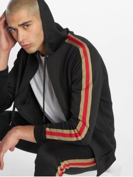 Uniplay Sweatvest Stripes zwart