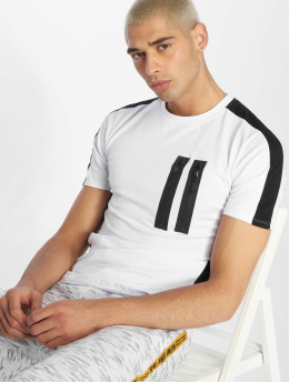 Uniplay T-shirt Zip bianco