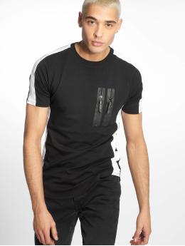 Uniplay T-Shirt Zip schwarz