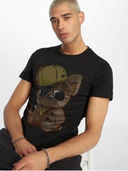 Uniplay Tričká Teddy èierna