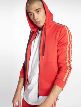 Uniplay Zip Hoodie Stripes red