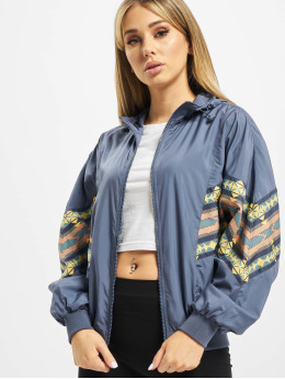 Urban Classics Демисезонная куртка Ladies Inka Batwing  синий