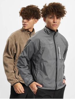 Urban Classics Демисезонная куртка Reversible Polar Fleece хаки