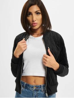 Urban Classics Демисезонная куртка Diamond Quilt черный