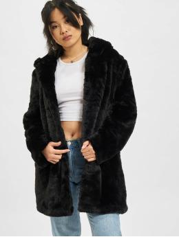 Urban Classics Пальто Hooded Teddy черный