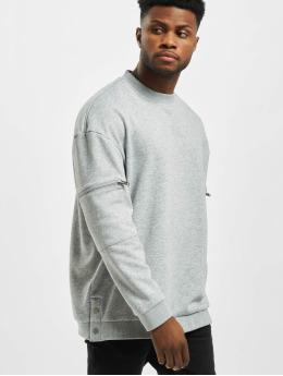 Urban Classics Пуловер Training Terry Crew серый