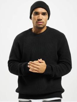 Urban Classics Пуловер Cardigan Stitch черный
