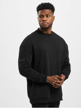 Urban Classics Пуловер Training Terry Crew черный
