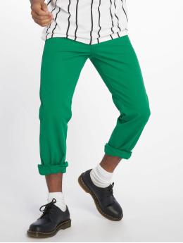 Urban Classics Чинос 5 Pocket зеленый
