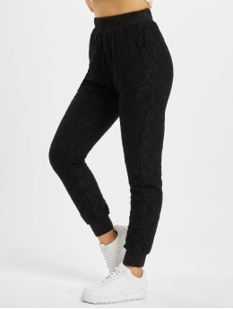 Urban Classics Чинос Lace Jersey Jog черный