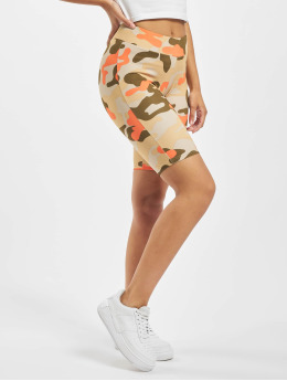 Urban Classics Шорты Ladies High Waist Camo Tech Cycle камуфляж
